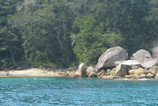 Caxadaco Beach : Praia de Cachadaço - Ilha Grande - RJ