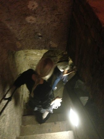 World War II in Prague Tour: Going into the underground caves from the 12th and 13th century