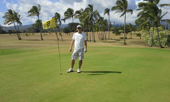 Kukuiolono Golf Course : Hole in one... not really!