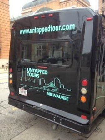 Untapped Tours: Untapped Tour Bus