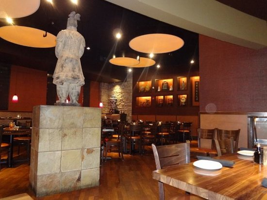 P.F. Chang's: Ambiente do restaurante