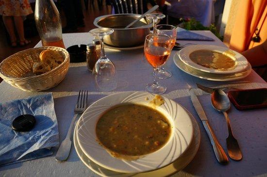 Le Belvedere De Coti : la soupe