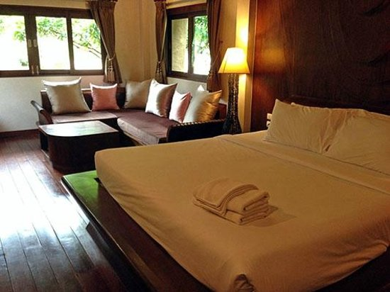 Bura Resort: Villa Seating Area