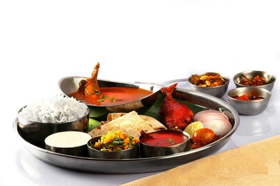 Hotel Sujatha Residency : ACTUAL FISH THALI PIC TAKEN AT OUR RESTAURANT