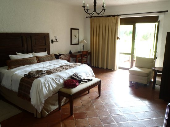 Finca Filadelfia Coffee Resort & Tours: Our bedroom (Room 8)