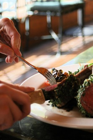 The River Grill at Sorrel River Ranch: Herb Roasted Rack of Lamb