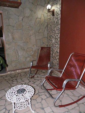 Colonial Carlos : Terrasse de la chambre