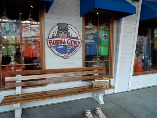 Bubba Gump Shrimp Co.: Entrada