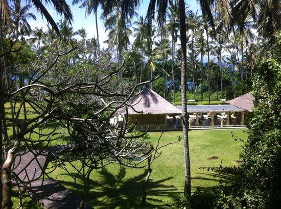 Amankila : the pool club next to the beach