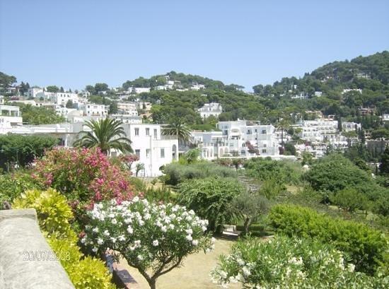 Hotel La Tosca: la vista che hai sul terrazzo