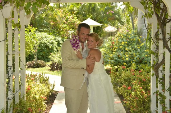 Sandals Inn : Our wedding day at the Carlyle