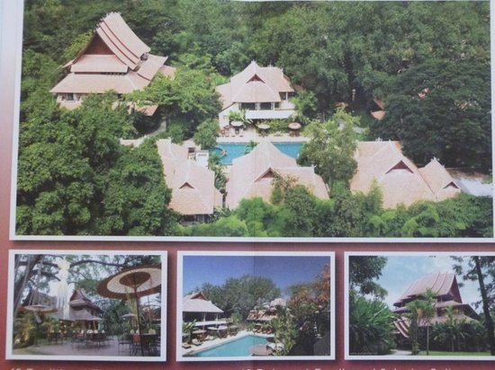 Yaang Come Village: Arial View - Hotel