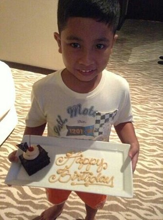 Acacia Hotel Manila: the birthday boy
