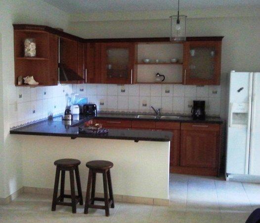 Bellafonte Luxury Oceanfront Hotel: Room 204 Kitchen