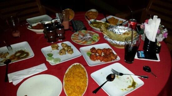Msafiri Indian Restaurant: Indian food at it's finest... ;-)
