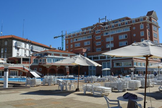 Hesperia Finisterre: On the sun terrace