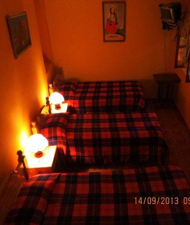 Hostal San Blas: Habitación Triple