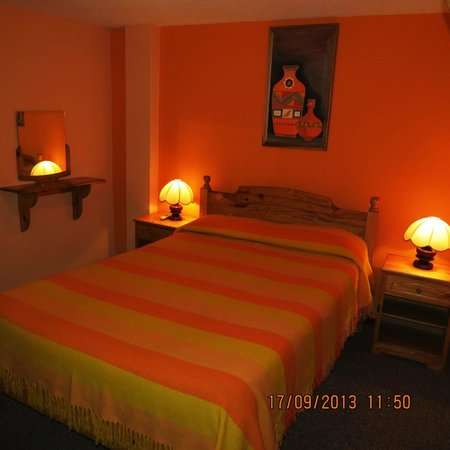 Hostal San Blas: Habitación matrimonial