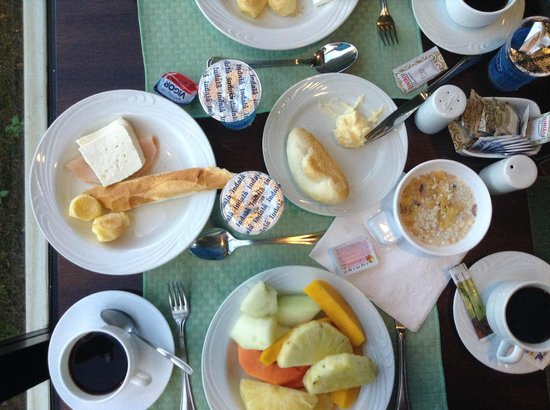 Golden Tulip Brasilia Alvorada: Breakfast