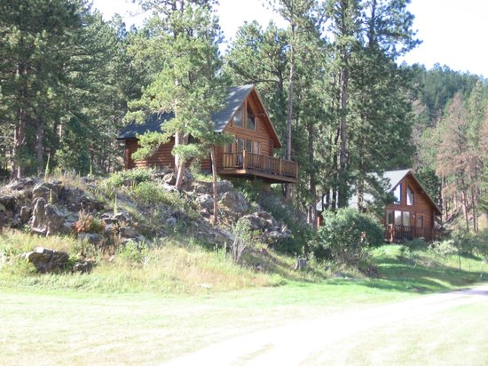 Newton Fork Ranch: Timber Haus Cabin