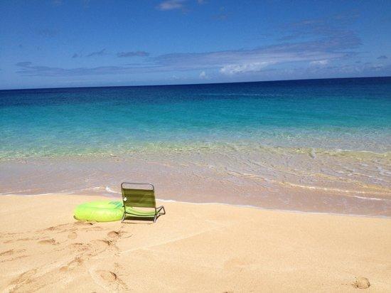 Ke Iki Beach Bungalows : my spot on the beach