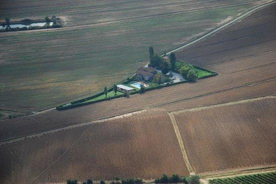 Casa Vacanze Vecchio Granaio: vista dall'alto 2
