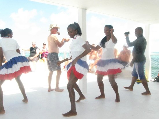Luxury Bahia Principe Esmeralda Don Pablo Collection: Dancers on the Catamaran