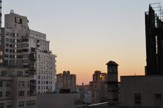 New York Presbyterian Guest Facility: View from our room