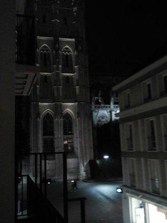 Hotel le Cardinal: Vista de la catedral