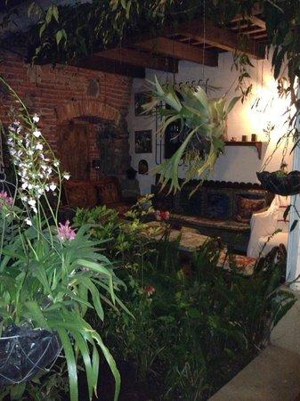 La Villa Serena: Wonderful sitting area