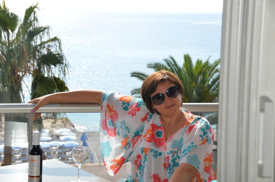 Radisson Blu Hotel, Nice : Балкон