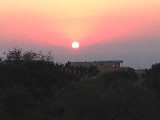 Sunrise at Villa Manos
