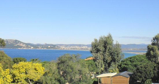 Camping Clair de Lune : Giens vue pano mer