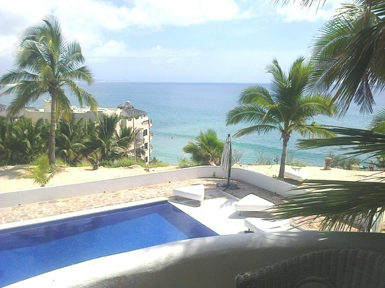 SurfinCabo B&B: view from small balcony