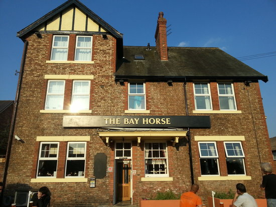 The Bay Horse: old exterior