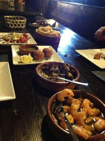 Tapas Restaurant & Lounge Bar : tapas at it's best