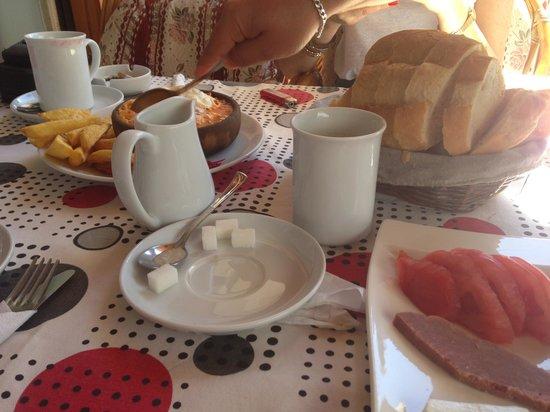 The Turkish Ivy : Turkish breakfast and the best Menemen(?) in ovacik, hisaronu and oludeniz