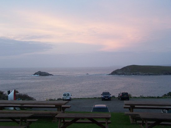 The Bowgie Inn: Sunset scene from the Bowgie