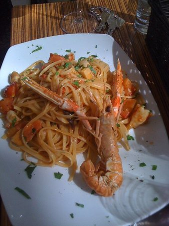 Osteria Pronto da Salvo: Spaghetti Scampi