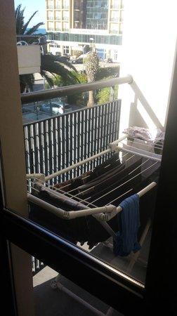 Duca degli Abruzzi Hotel: Balcony for Room 202