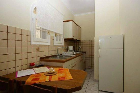 Type a kitchen picture of alexandra natalia aparthotel for Natalia s kitchen