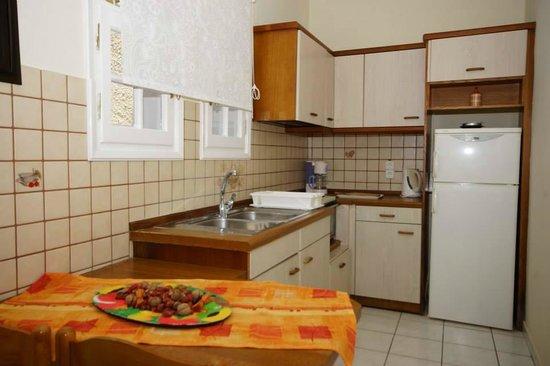 Alexandra Natalia Aparthotel: Type B kitchen