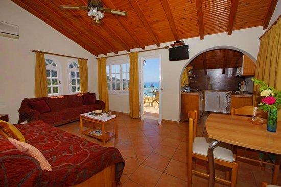 Alexandra Natalia Aparthotel: Type C living room