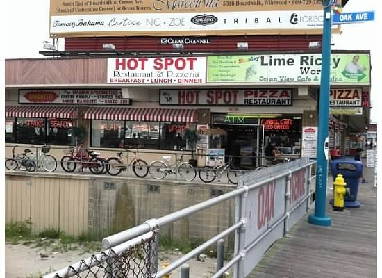 Wildwood Boardwalk: All day food!