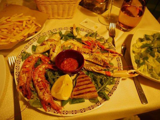 Ristorante Il Porticciolo : mixed seafood grill