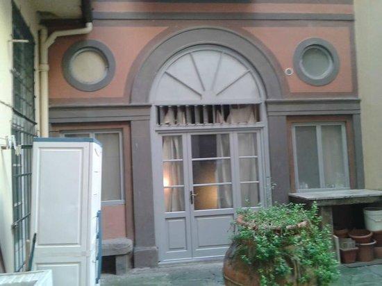 Soggiorno Pitti : Vista do quarto
