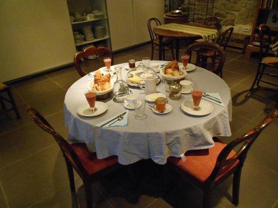 La Souqueto : Breakfast