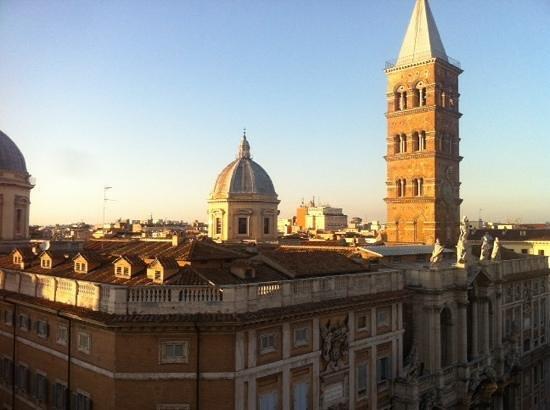Biancoreroma B&B: a wonderful view