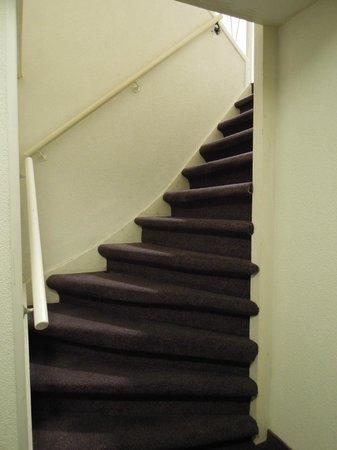 Nova Hotel Amsterdam: 超狹窄樓梯