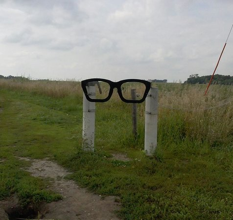 Plane Crash Site of Buddy Holly: entrance to Buddy Holly crash site